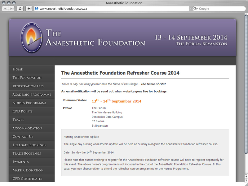 Anaesthetic Foundation