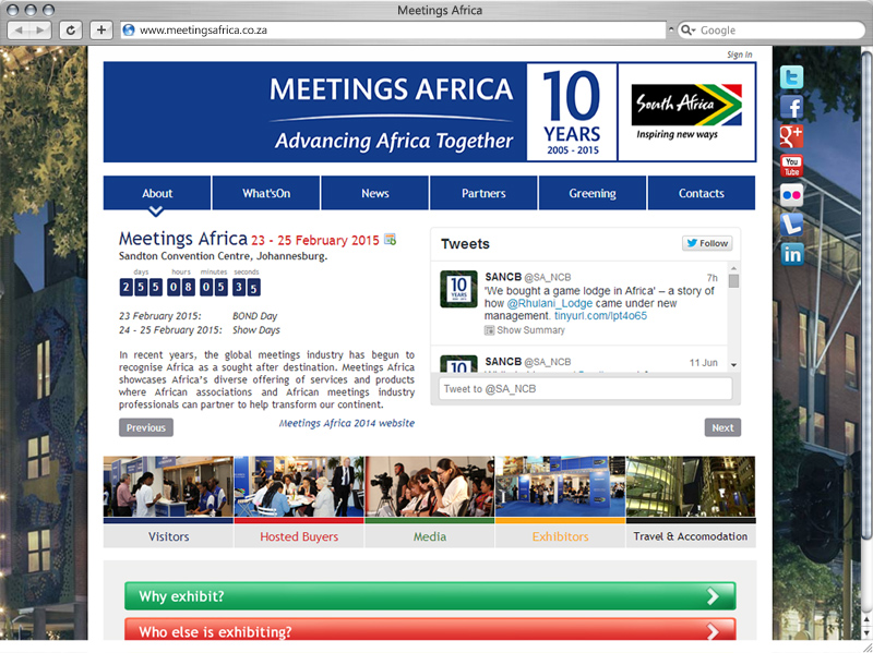 Meetings Africa